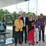 Fotos von der Eröffnung des 10. Glaskunstpreises